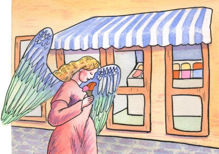 ice-cream-angel