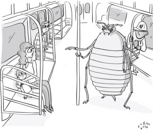 bug on the subway