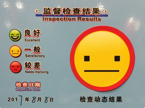 inspection poster