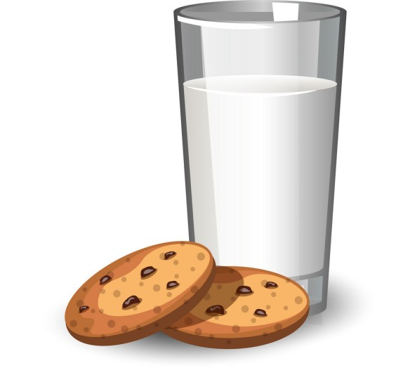 glass-of-milk-and-cookies-vector-16789571