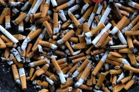 GERMANY-CIGARETTE-HEALTH-POLLUTION