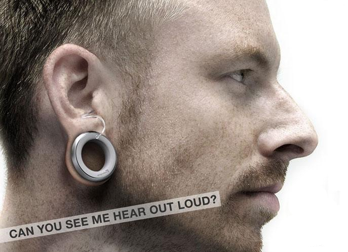 fashion hearing aid